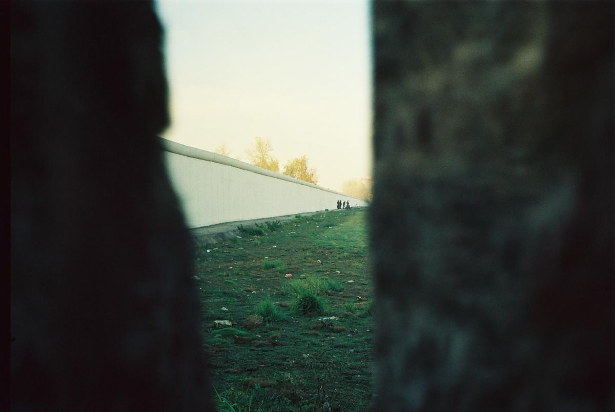 So sah die Mauer von der anderen Seite aus.